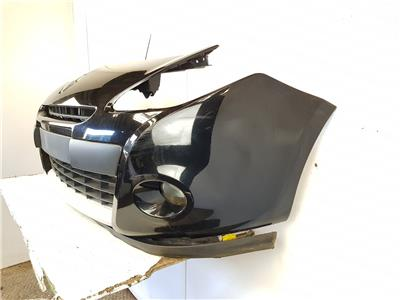 2009-2012 MK3 FL Renault Clio FRONT BUMPER BLACK 5 Door Hatchback