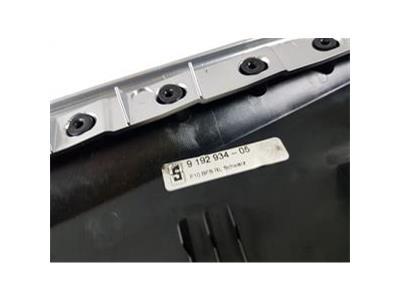 2009-2016 F10 BMW 5 SERIES FACIA PANEL FULL INTERIOR TRIM SET BLACK/SILVER