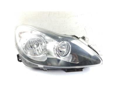 2007-2011 MK3 VAUXHALL CORSA D HEADLIGHT RH Drivers Side 93189364