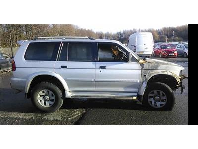 2002 Mitsubishi Shogun Sport 2001 To 2009 5 Door 4x4 (Diesel