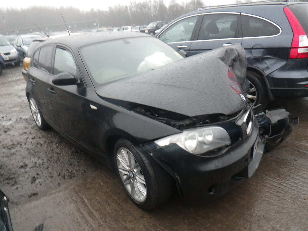2009 bmw 1 series 118d m sport 5 door hatchback diesel. Black Bedroom Furniture Sets. Home Design Ideas