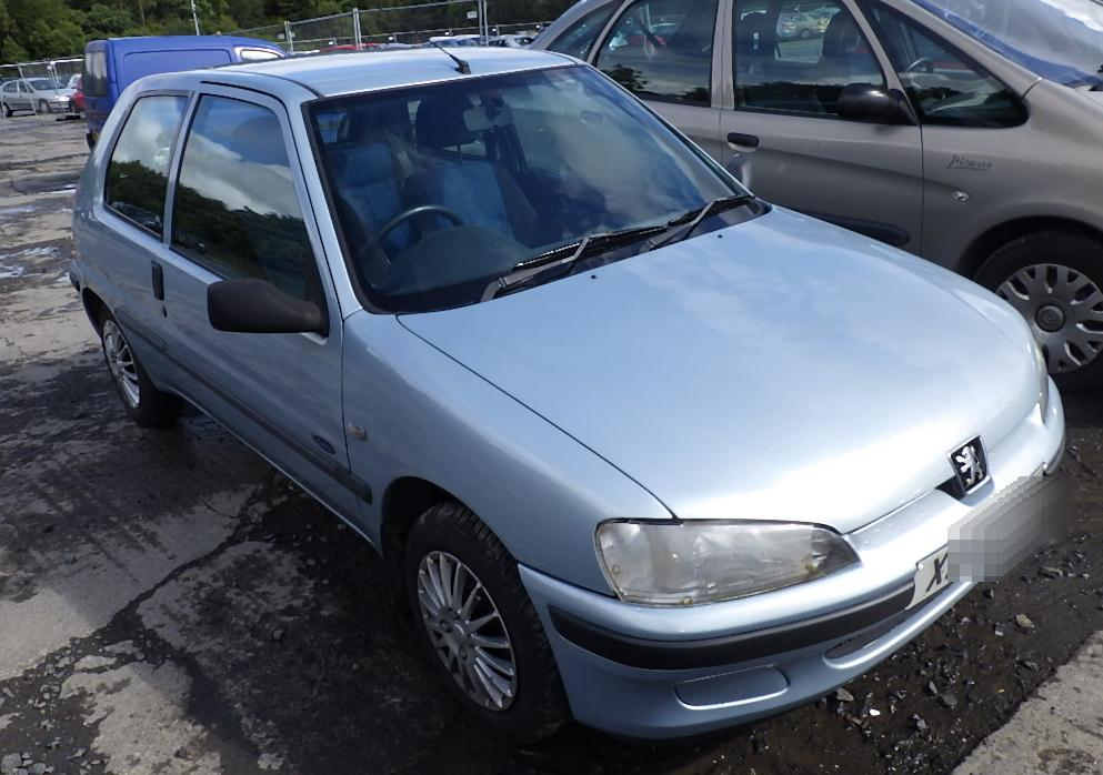 2000 Peugeot 106 Zest 2 3 Door Hatchback (Petrol / Manual) breaking ...
