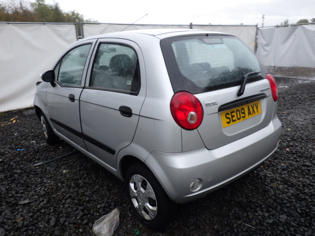 2009 Chevrolet Matiz 2005 To 2010 5 Door Hatchback Petrol Manual
