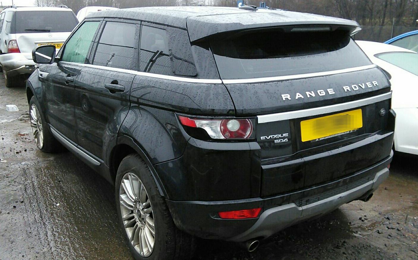 Peru Auto Salvage >> 2013 Land Rover Range Rover Evoque 2011 To 2015 5 Door ...