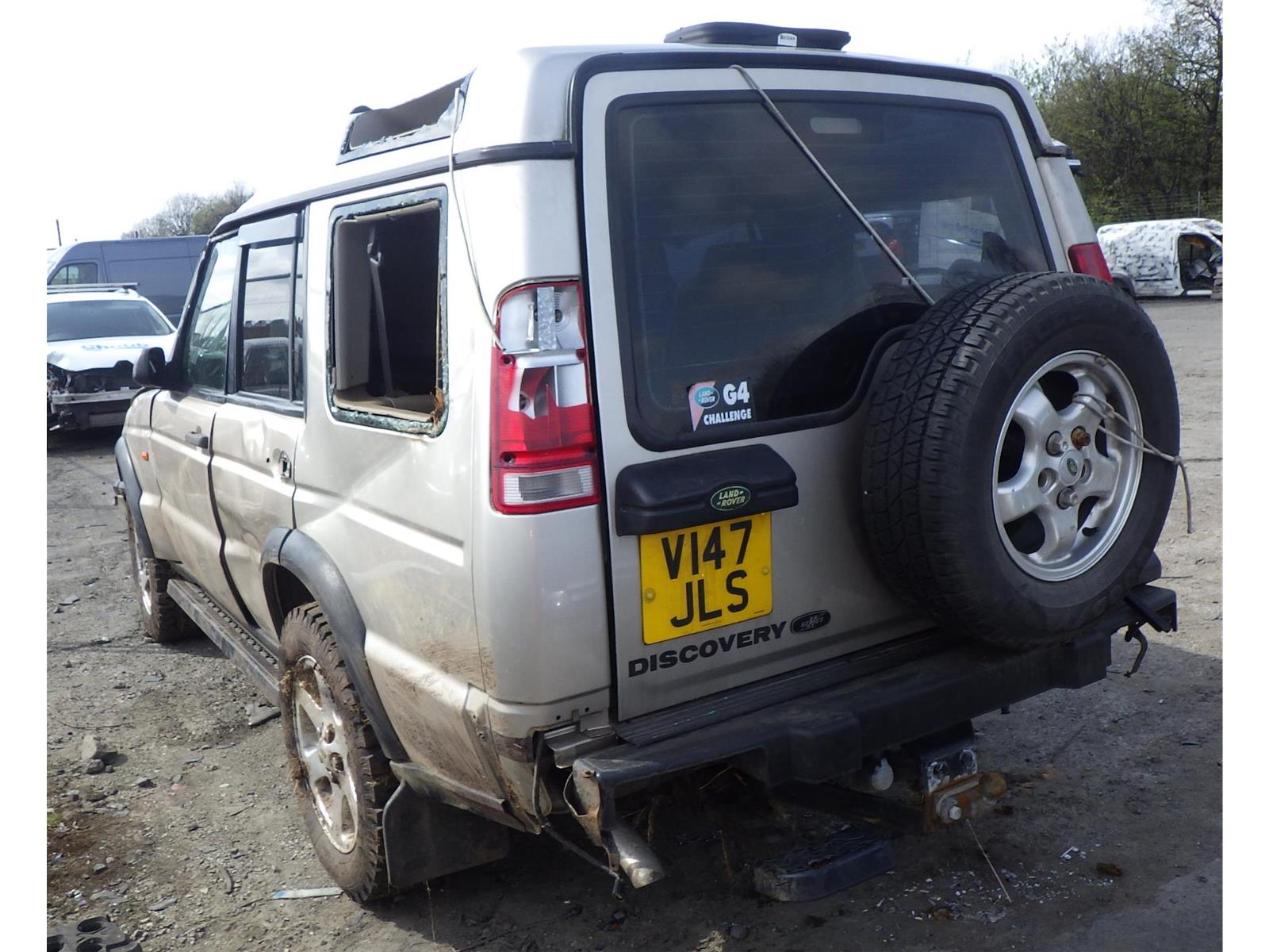 2000 Land Rover Discovery 1998 To 2003 5 Door 4x4 Diesel Manual