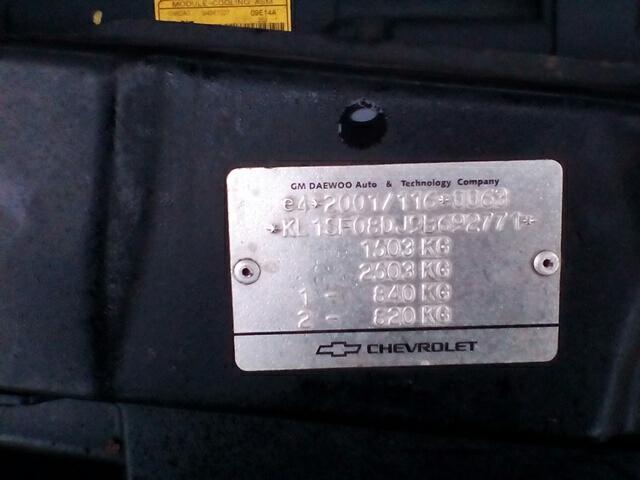 2009 Chevrolet Aveo S 3 Door Hatchback Petrol Manual Breaking
