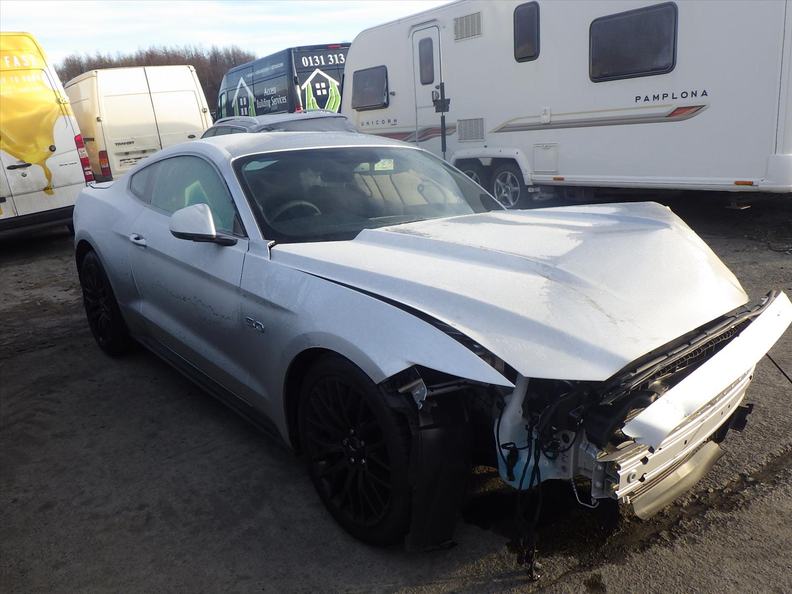 Used Mustang Parts >> 2016 Ford Mustang 2015 To 2018 2 Door Coupe Petrol Manual