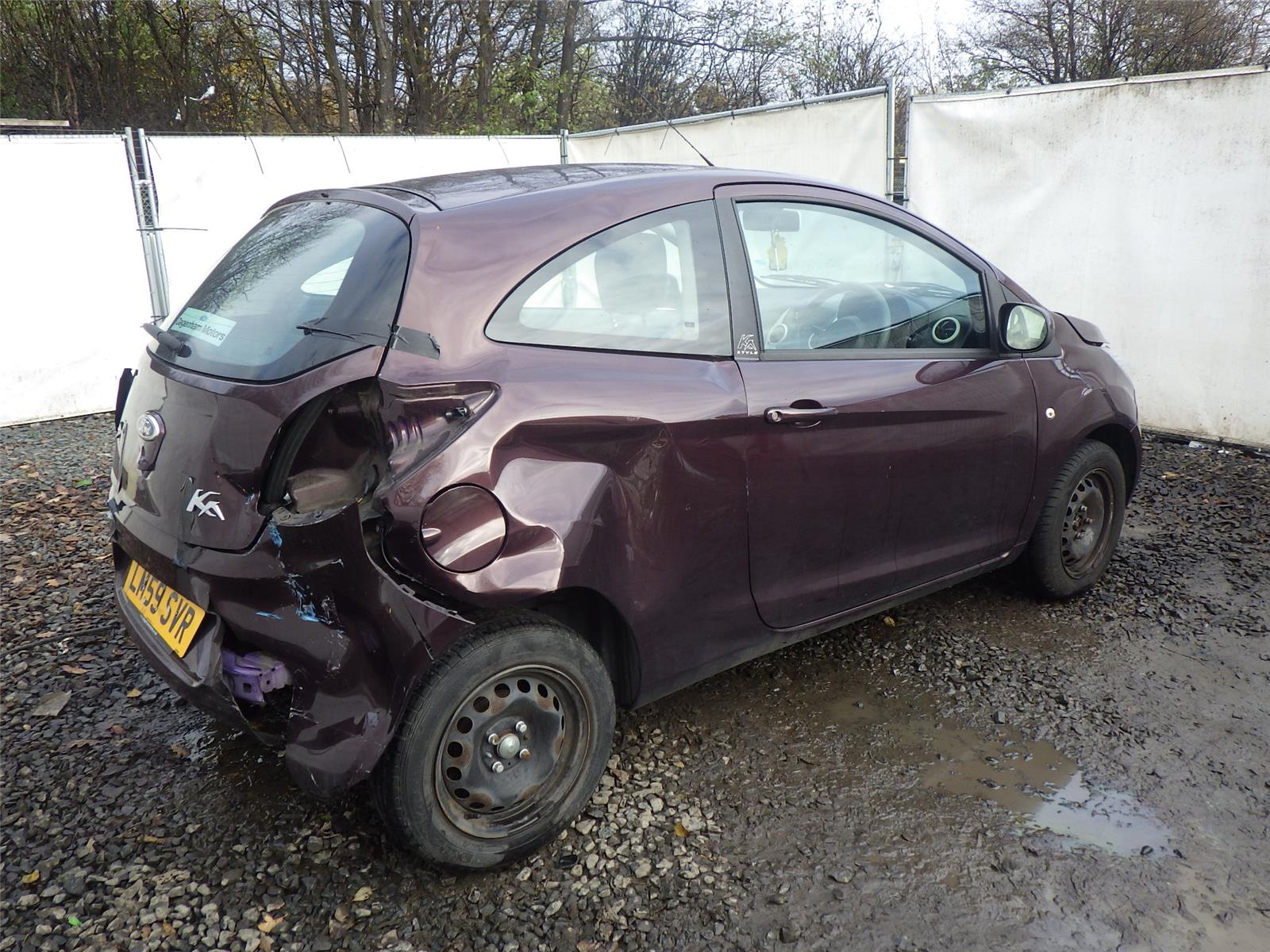 Ford Ka Style  Door Hatchback Breaking For Parts