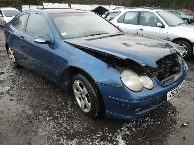 2002 Mercedes-Benz C Class C220 SE CDi 3 Door Coupe (Diesel / Manual