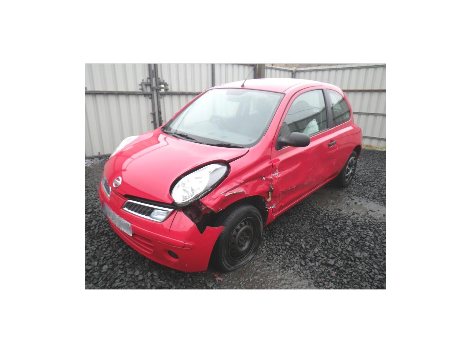 ... 2009 Nissan Micra 2007 To 2010 Visia 1.2cc Manual Petrol RED Car Lamp  Indicator Front ...