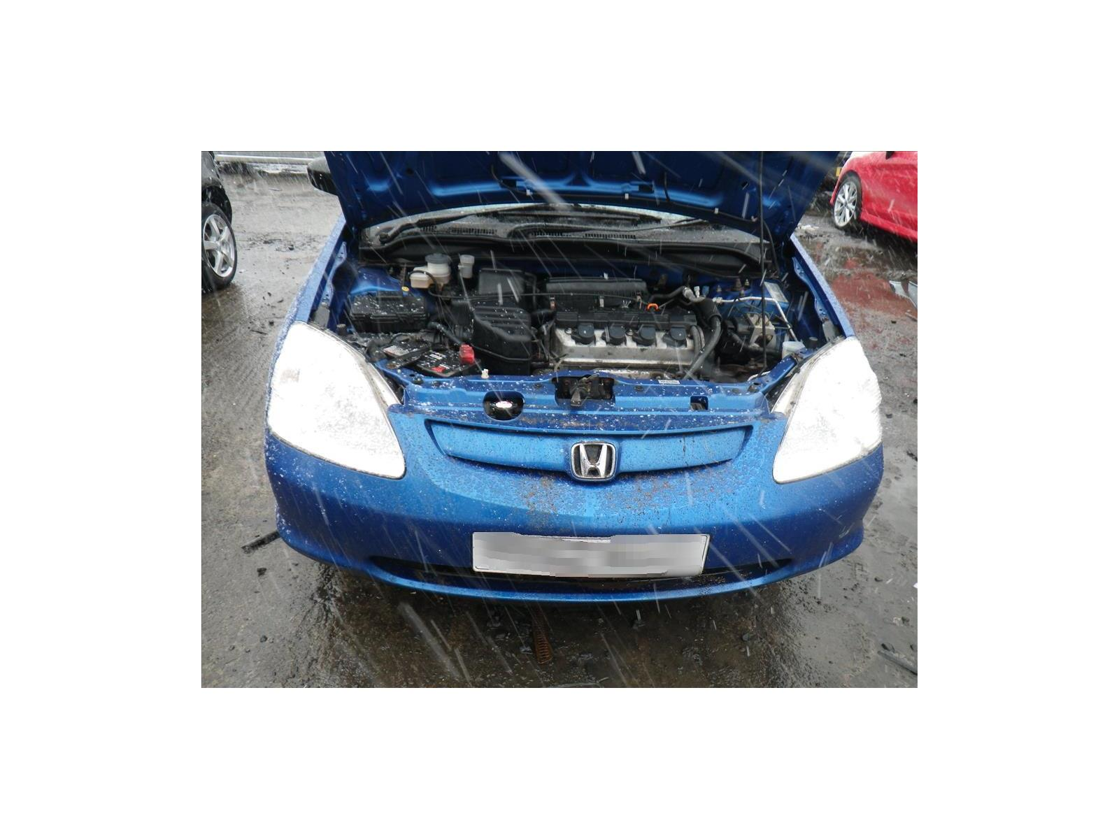 2002 Honda Civic Vision 5 Door Hatchback (Petrol / Manual) breaking for  used and spare parts from Burnside Motors, Auto Salvage Dealers in Leven,  Fife