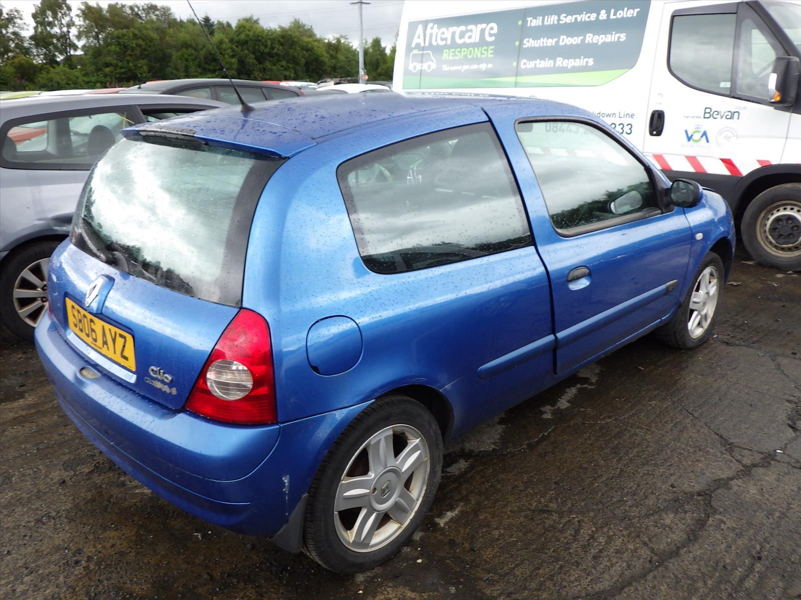 2006 renault clio 2001 to 2007 3 door hatchback petrol manual rh scbvehicledismantlers co uk renault clio 2 manual renault clio 2 manual