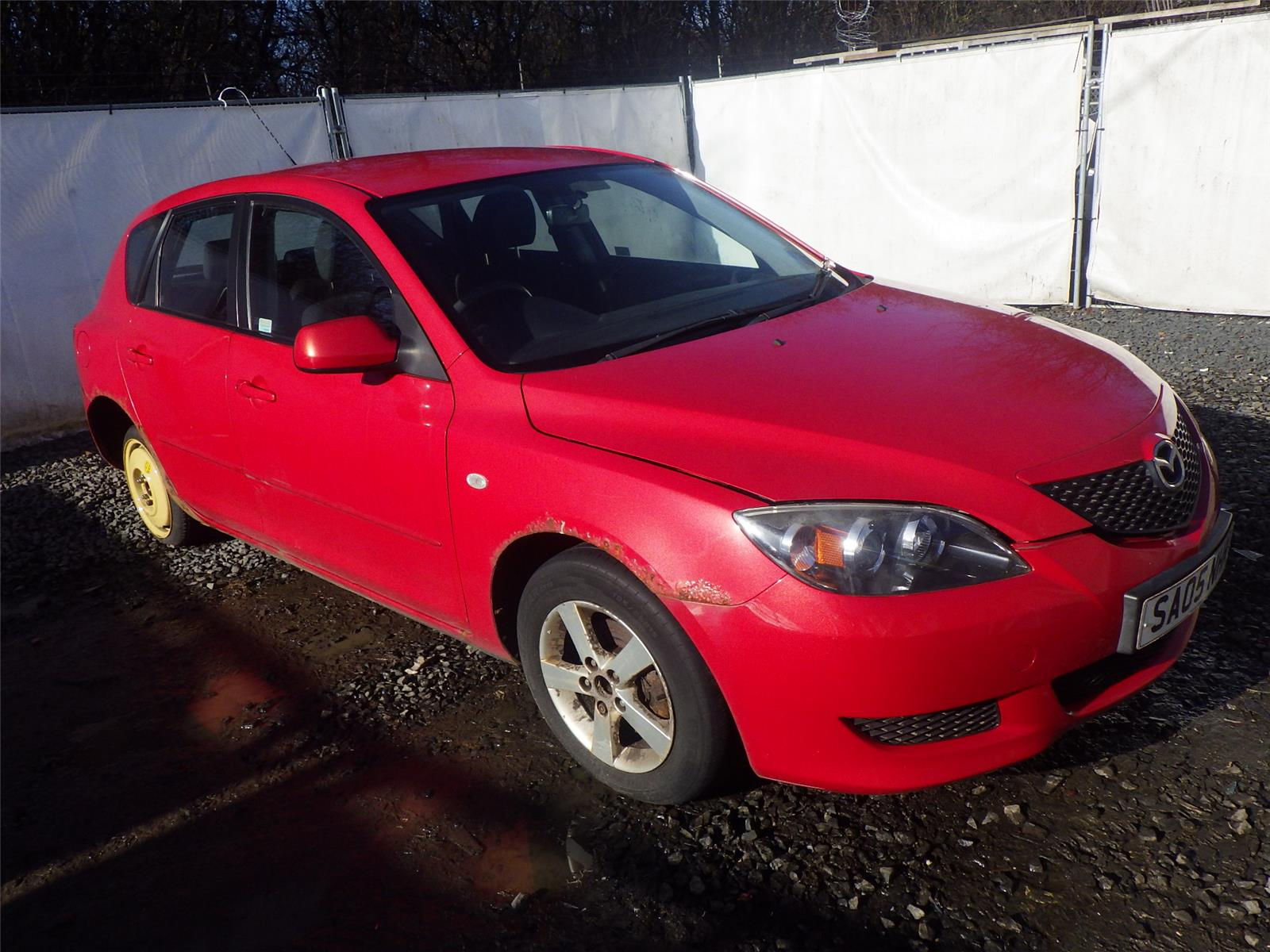 Mazda 3 2004 To 2008 5 Door Hatchback