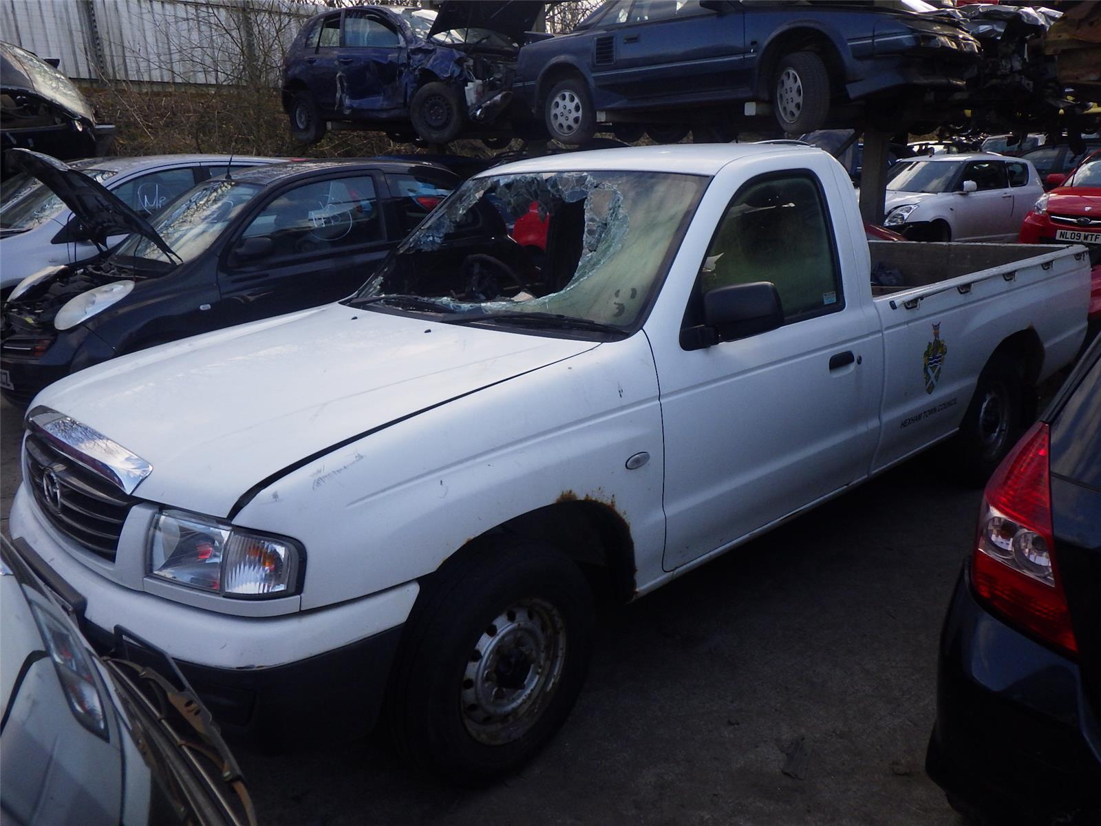 2006 mazda b series 4x2 single cab pick up diesel manual rh burnsidemotors co uk Mazda B2300 Mazda B Trucks