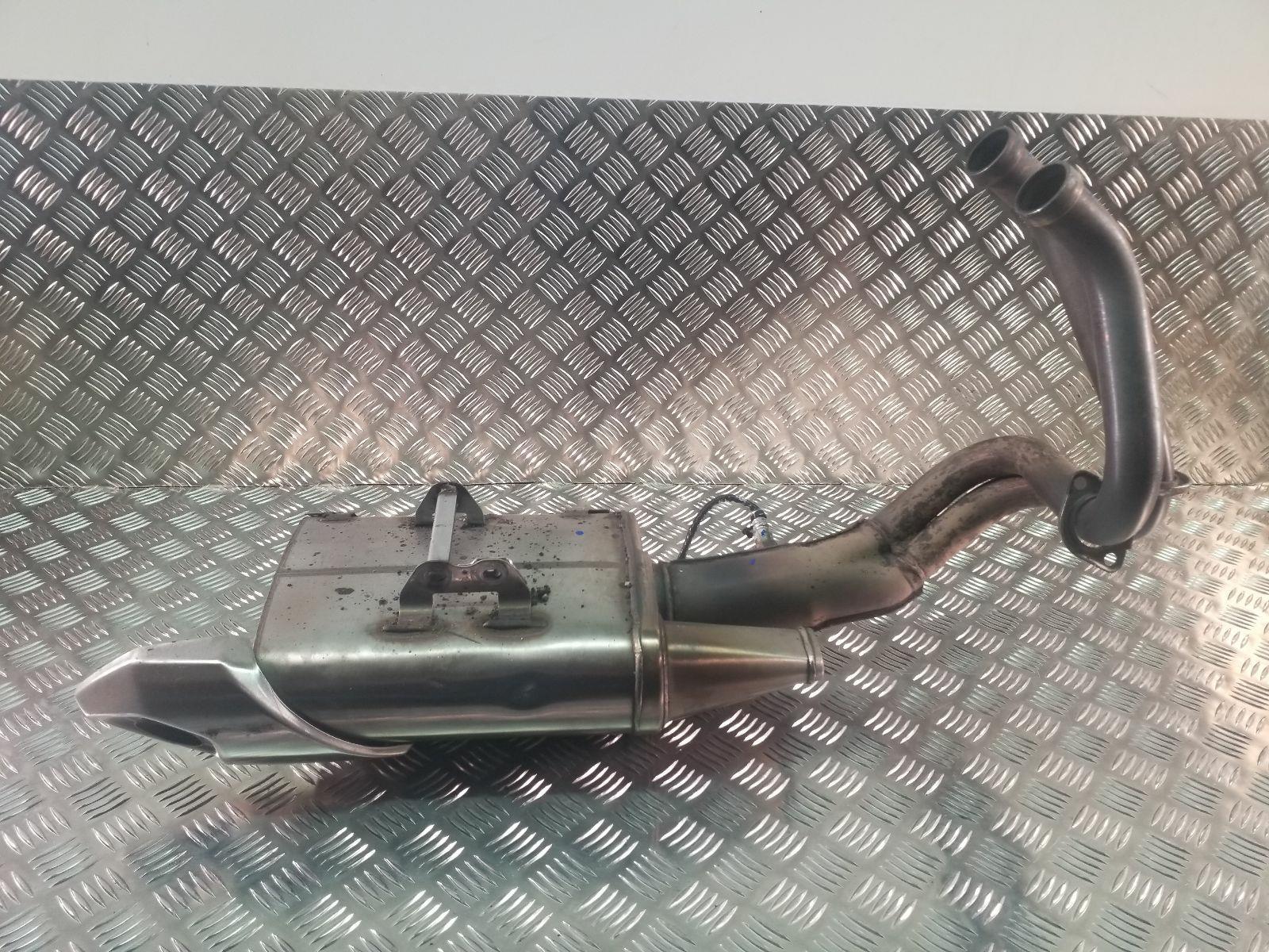 2012 Kawasaki 650 ECF Exhaust System
