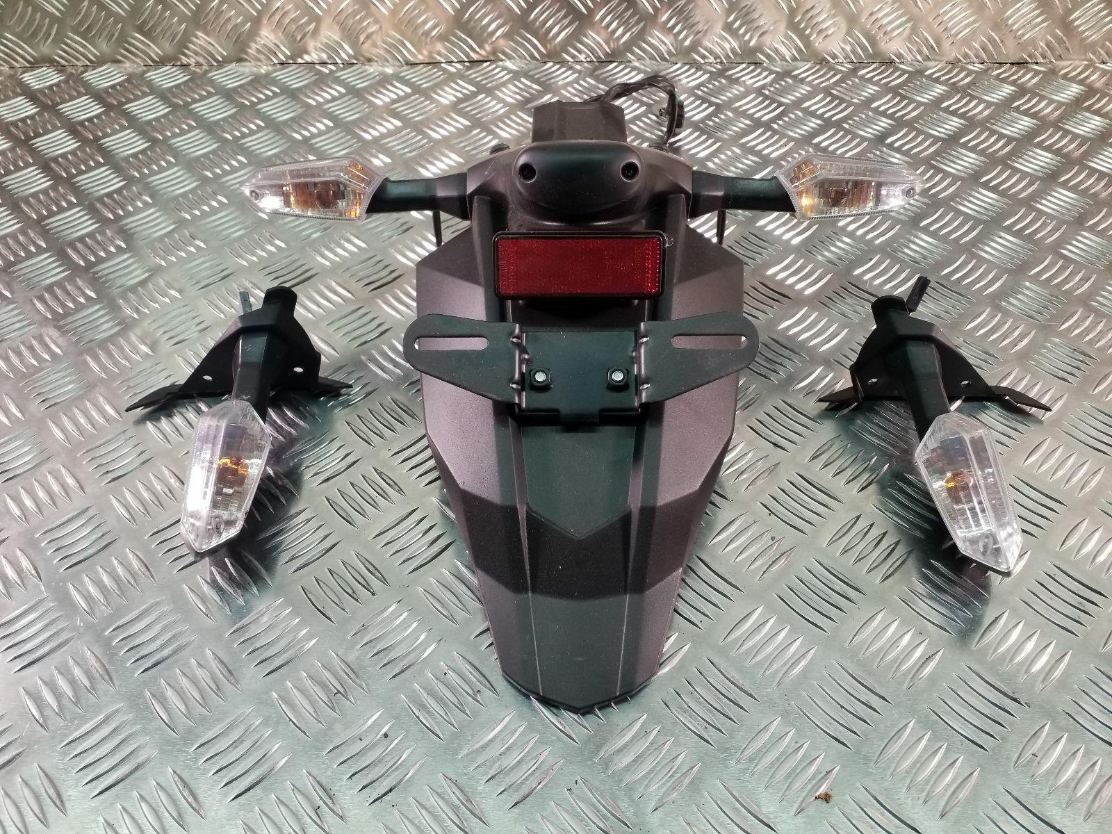 2012 Kawasaki 650 ECF Rear Mudguard