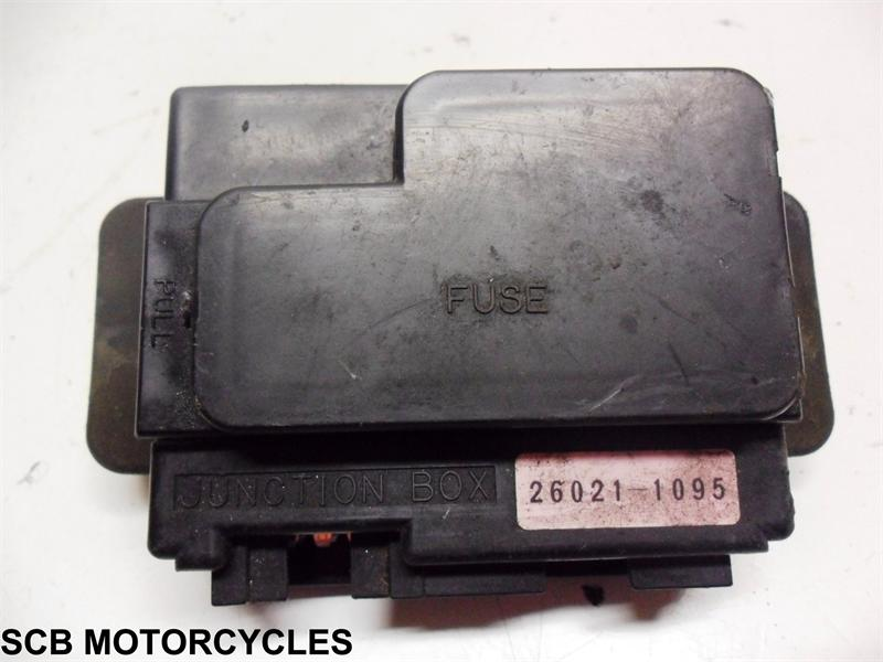2002 Kawasaki ZX6R ZX636A Fuse Box for sale from SCB Motorcycles in on