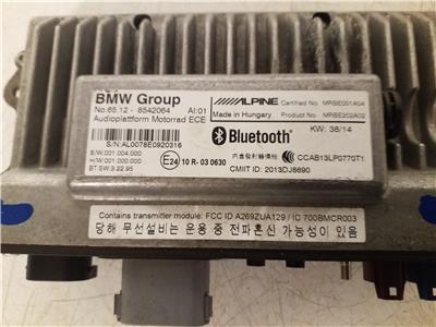 BMW R 1200 RT Audio Module