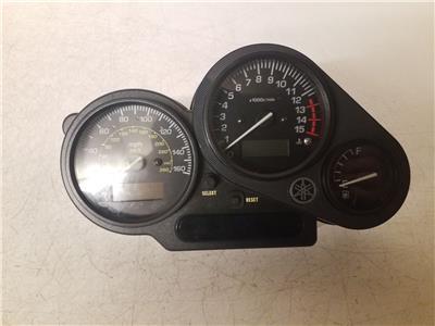 2003 Yamaha 600 Clocks