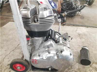 2013 ROYAL ENFIELD GT Engine