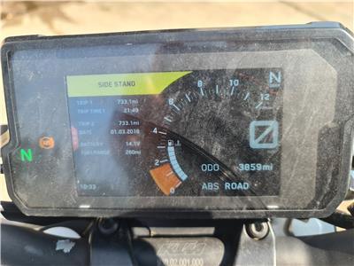 KTM 125 MOTORCYCLE