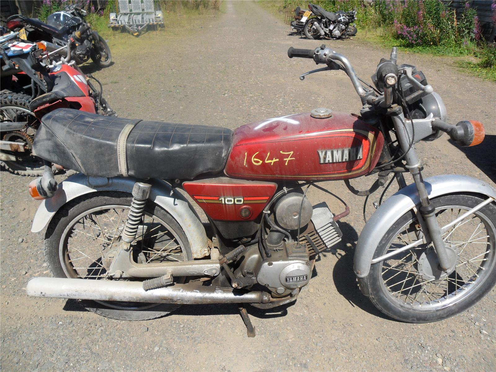 Manual Yamaha Yb 100 Snap Circuits Electromagnetism 1650 A Tino Projects Pinterest Array Deluxe Road Petrol Breaking For Used And Rh Scbmotorcycles Com