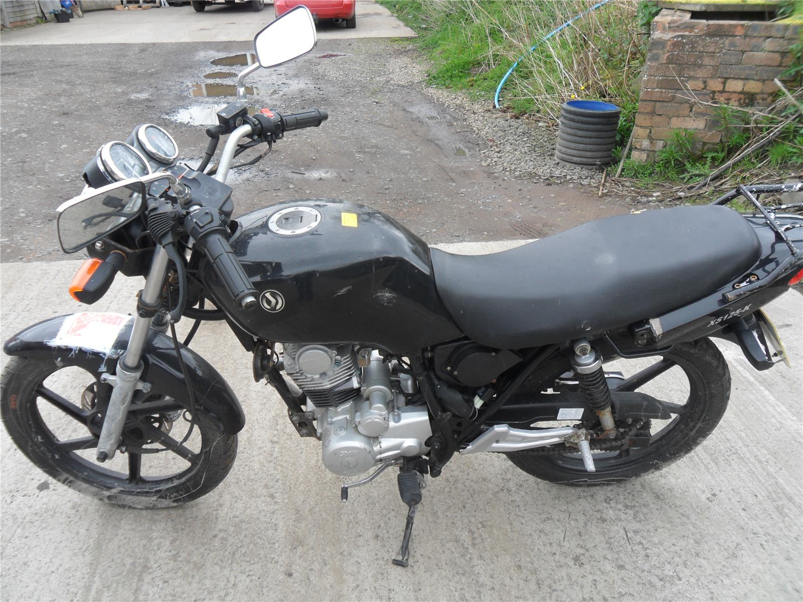 2011 Sym XS 125 Road (Petrol / Manual) breaking for used and spare
