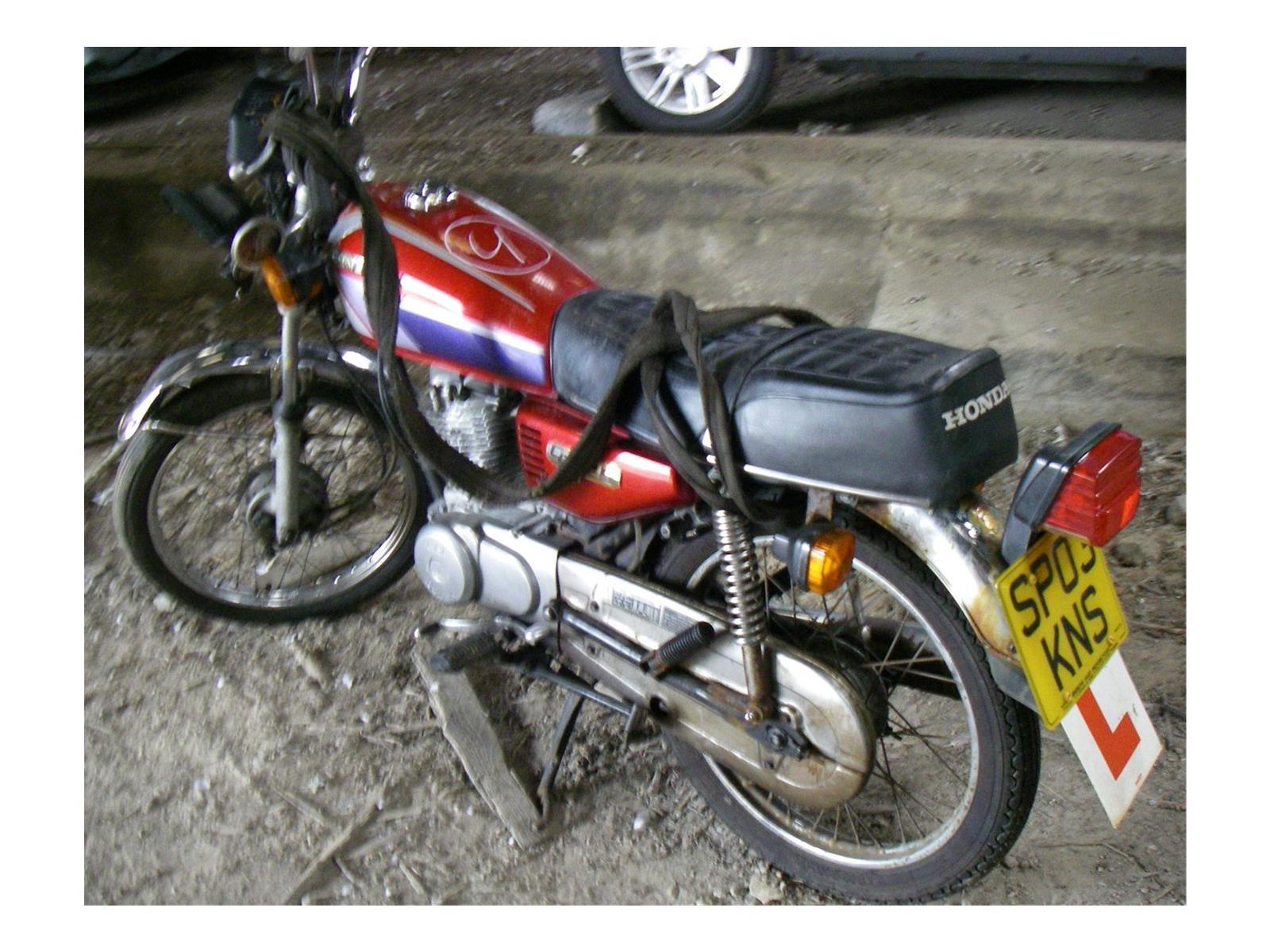 Honda CG 125 Road