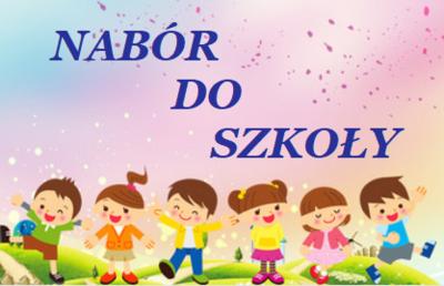 Informacja dla Rodziców o naborze do klas I na rok szkolny 2019/2020. image