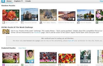 Erasmus+ Webby - prace uczniów na www.jigsawplanet.com image