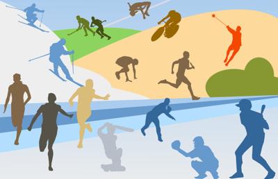Zawody w łyżwiarstwie szybkim chłopców i dziewcząt rozgrywane w ramach  Powiatowych Igrzysk  Młodzieży Szkolnej image
