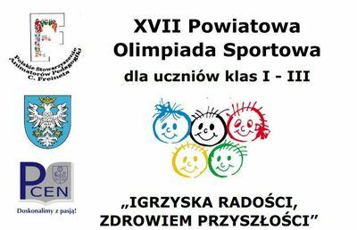 XVII Freinetowska Powiatowa Olimpiada Sportowa - klasa 3b image