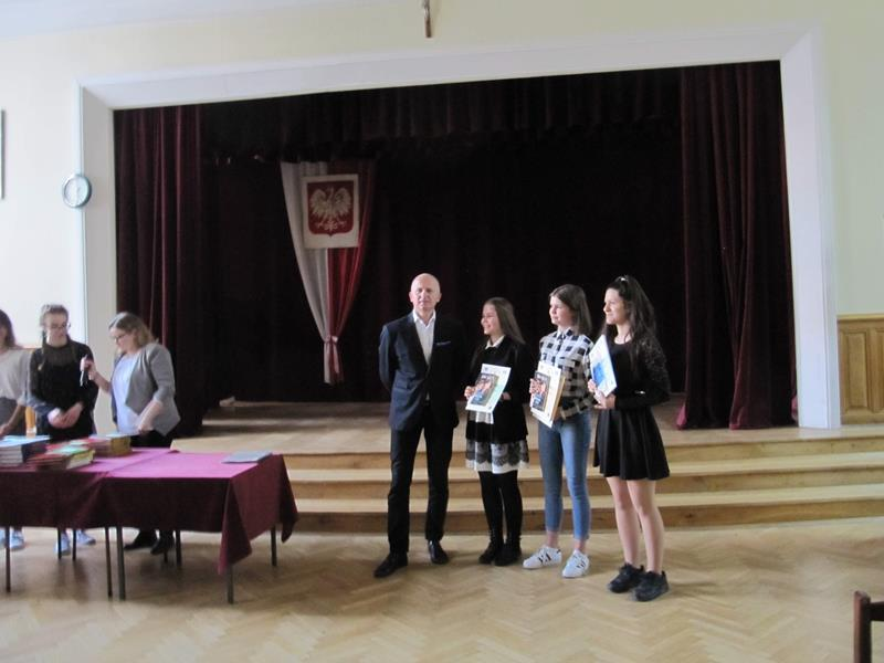 Sukces młodych aktorów - Malinowy konkurs