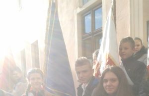 Poczet Sztandarowy na uroczystościach 11 Listopada image