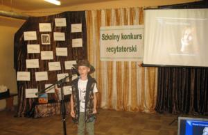 Konkurs recytatorski wierszy W.Chotomskiej image