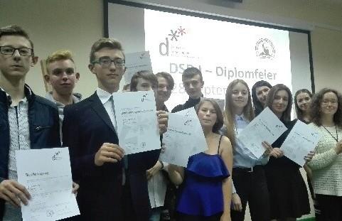 Wręczenie dyplomów DSD I image