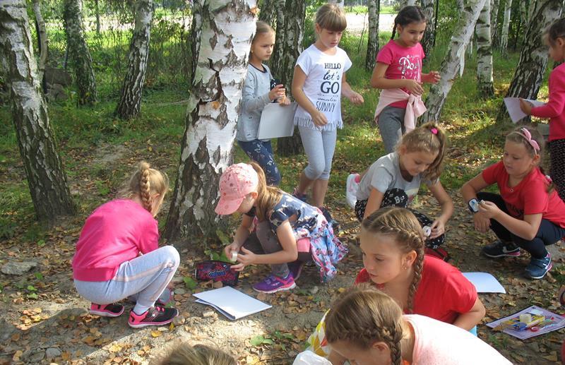 Uczniowie klasy 2c na wycieczce w Arboretum image