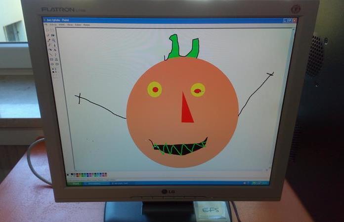 Zajęcia dodatkowe z informatyki w kl. 1b - Halloween
