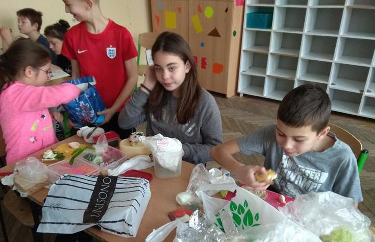 Śniadanie daje moc w klasie 5e