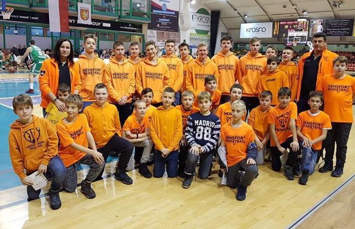 Koszykarze na meczu ekstraklasy mężczyzn w Krośnie image