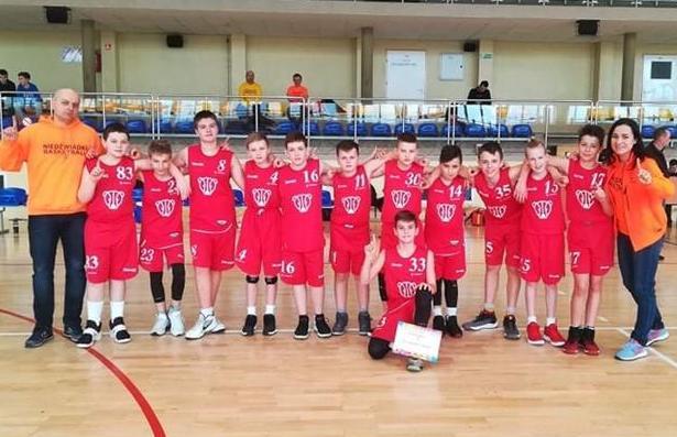 Kolejny sukces młodych koszykarzy!