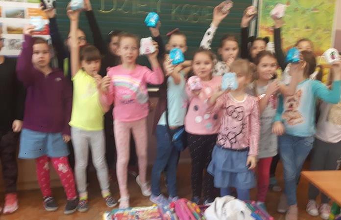 Dzień Kobiet w klasie 2b