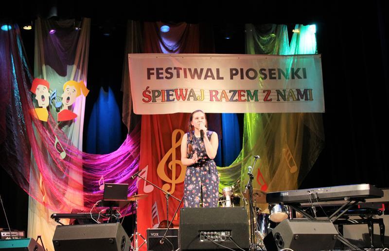 Finał wojewódzki Podkarpackiego Festiwalu piosenki Śpiewaj Razem z Nami.