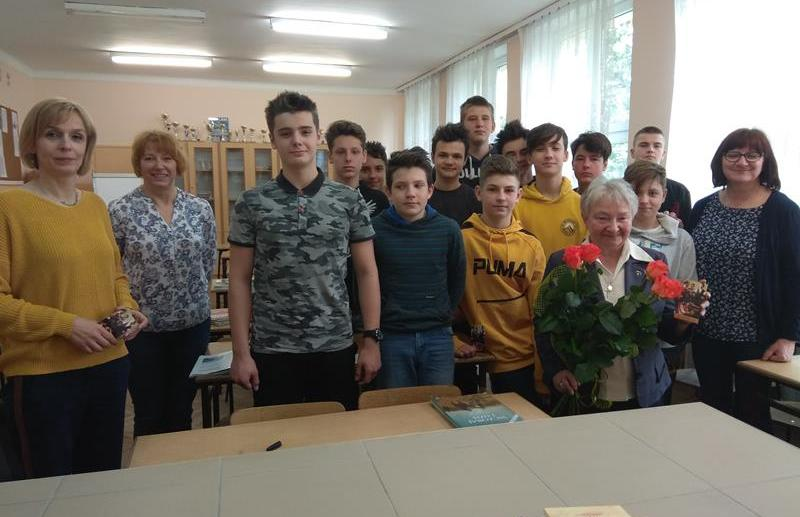 Spotkanie z p. M. Szulikowską