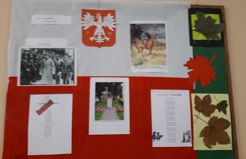 Święto Niepodległości w świetlicy z udziałem uczniów klas drugich i trzecich image