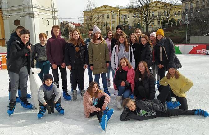 Klasa 7c na lodowisku