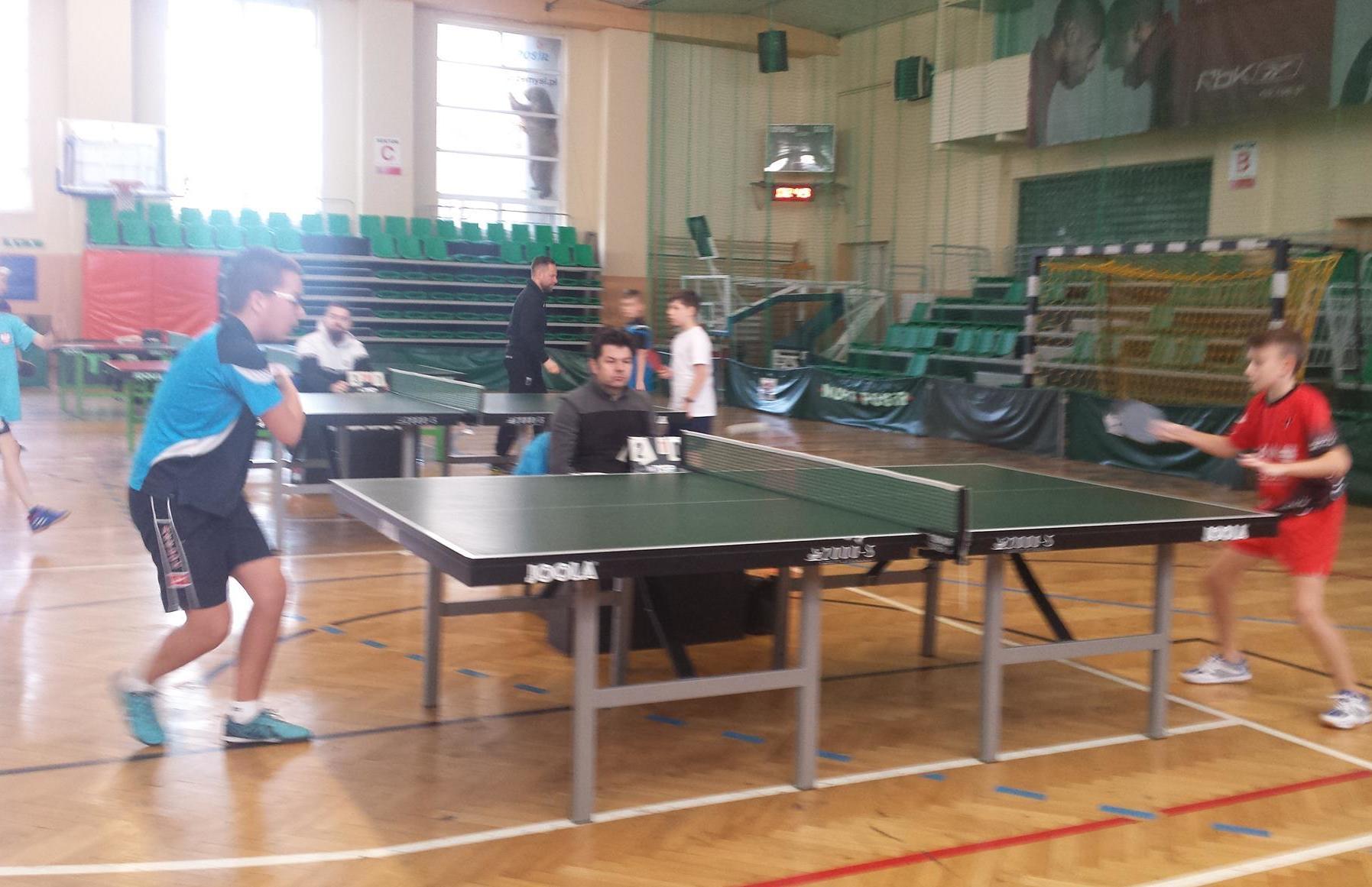Nasze sukcesy w Igrzyskach Dzieci w tenisie stołowym