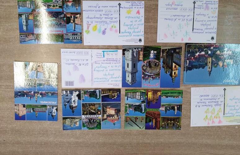 Międzyświetlicowa  Ogólnopolska akcja wymiany pocztówek image