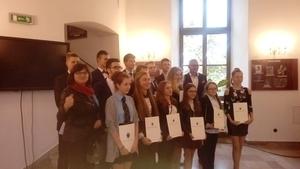 Wręczenie stypendiów Prezydenta Miasta Przemyśla image