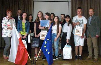 """Konkurs  """"Wiedzy o integracji europejskiej"""" image"""